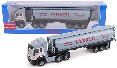 Toyland® Camion e rimorchio Giocattolo da 28 cm - Pressofuso - Giocattoli e...