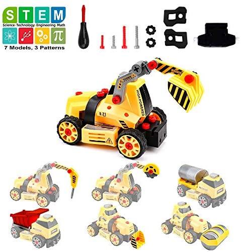 Amy & Benton 68 Pezzi Smontabile Giocattolo Camion per Costruzioni...