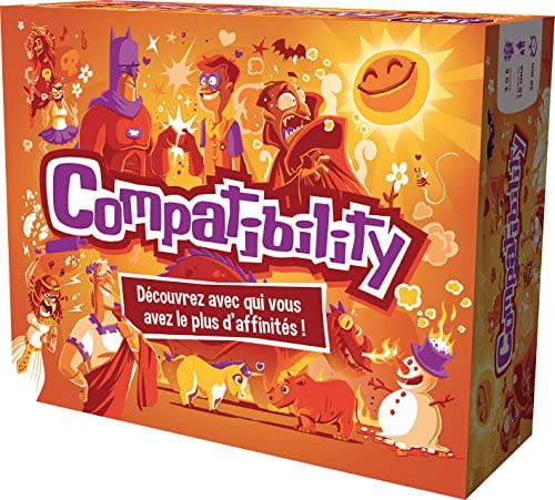 Cocktail Games Compatibility Bambini e Adulti Party Board Game–Gioco da...