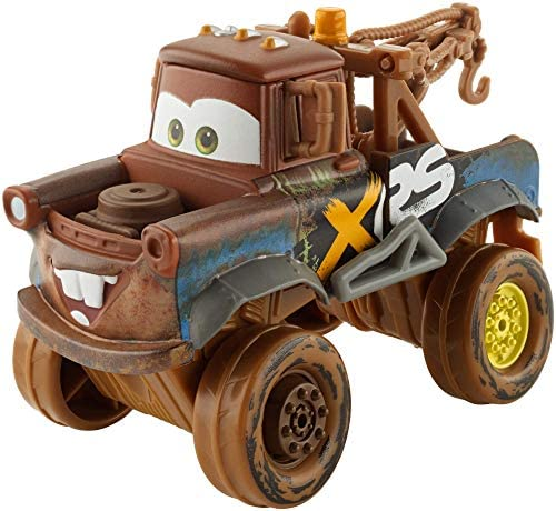 Disney Cars-GBJ47 XRS Mud Racing Cricchetto Veicolo Die-Cast, Giocattolo...
