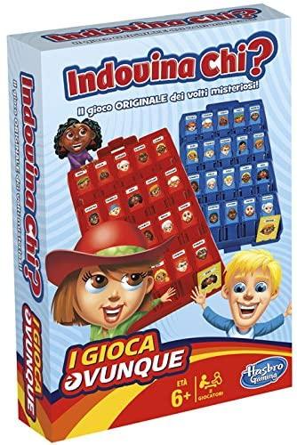 Hasbro Gaming - Indovina Chi? Travel (Gioco in Scatola), B1204103 [Versione...