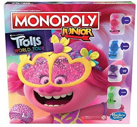 Monopoly Junior: DreamWorks Trolls World Tour Edition gioco da tavolo per...