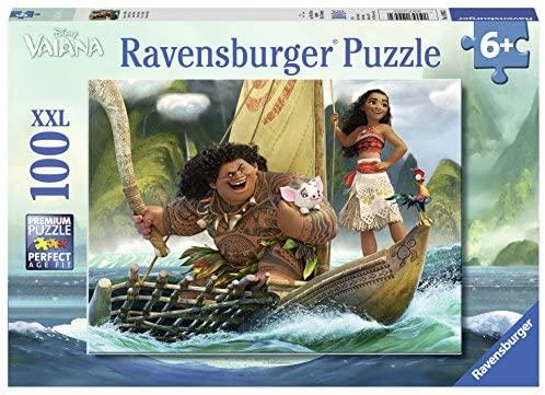 Ravensburger Italy- Puzzle per Bambini Vaiana, 100 Pezzi, 10943
