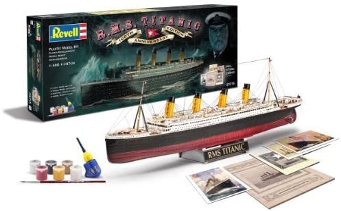 Revell- Control 1/400 Gift Set 100 Years Titanic Special Edit, Colore...