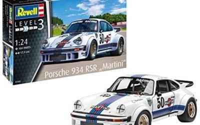 Revell- Porsche 934 RSR Martini Kit di Modelli in plastica, Multicolore,…