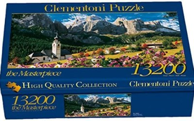 Clementoni- Sellagruppe-Dolomiti High Quality Collection Puzzle, 13200…