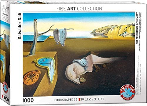 EuroGraphics- The Persistence of Memory Puzzle, Colore Vario, 6000-0845