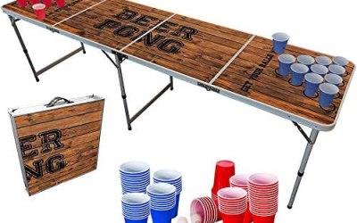 Pacchetto di Tavolo Beer Pong Ufficiale Old School | 1 Tavolo + 120 Coppe…