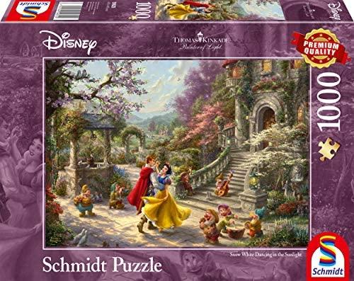 Schmidt Spiele- Thomas Kinkade, Disney Biancaneve – Danza con Il Principe,...