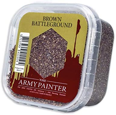 The Army Painter  | Brown Battleground | Materiale per Basette | Sabbia...