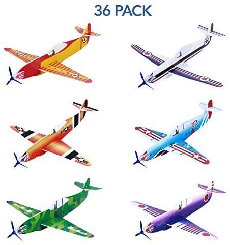 Toyvian Plane Models Flying Plane Toys Aereo Aliante Schiuma Aliante Aereo...