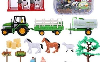 Veicoli per Fattoria, Giocattolo agricolo da gioco per bambini con camion…