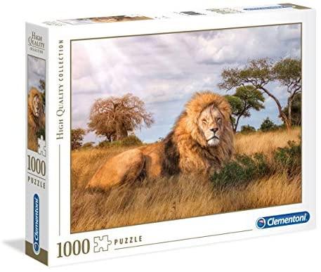 Clementoni Collection Puzzle-The King-1000 Pezzi, Multicolore, 39479