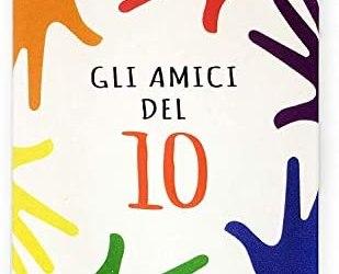 Gioco Carte Bambini In Scatola Da Tavolo Educativo Gli Amici Del 10 – Dai 5…