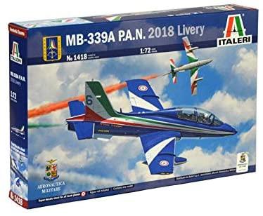 Italeri 1418 MB-339A PAN 2018 livery Model Kit aereo Frecce Tricolori...