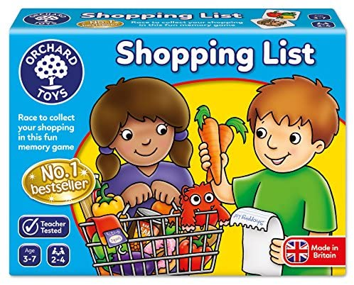 Orchard Toys - Lista della Spesa (Shopping List), Gioco da Tavolo educativo...