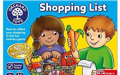 Orchard Toys – Lista della Spesa (Shopping List), Gioco da Tavolo educativo…