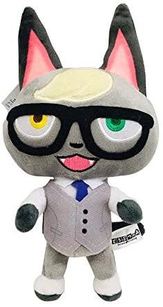 Peluche di Animal Crossing Figura del fumetto animale Ankha Morbido peluche...