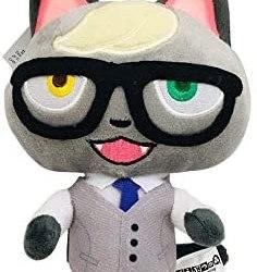 Peluche di Animal Crossing Figura del fumetto animale Ankha Morbido peluche…