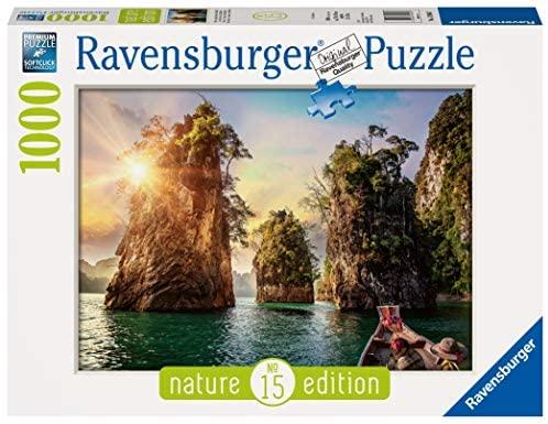 Ravensburger- Rocce di Cheow LAN, Tailandia Puzzle, Multicolore, 13968