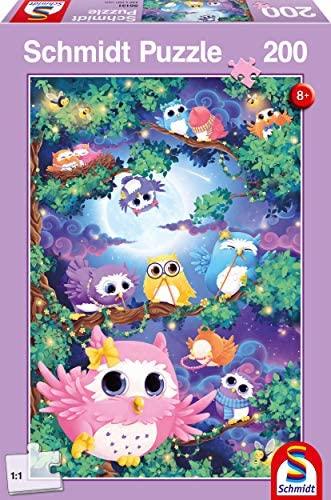 Schmidt - Nella Foresta dei Gufi Puzzle per Bambini, 200 Pezzi