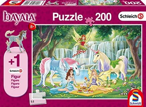 Schmidt Spiele- Schleich-Puzzle Bayala, Picnic degli Elfi, 200 Pezzi,...