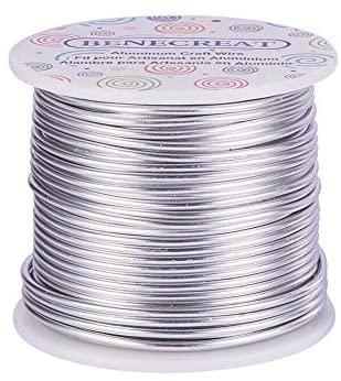 BENECREAT 30m Filo di Alluminio Anodizzato Che Fa Bordare Fili di Alluminio...