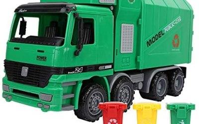 Camion Spazzatura Inerzia Simulazione Giocattoli Modello Dell'automobile…