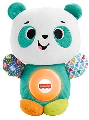 Fisher-Price- Parlamici Baby Panda Gioca con Me, Gioco Educativo con Luci e...