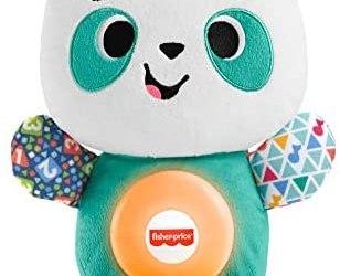 Fisher-Price- Parlamici Baby Panda Gioca con Me, Gioco Educativo con Luci e…