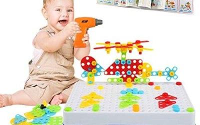 LEADSTAR 3D Mosaico di Puzzle, 237 PCS Giochi Costruzione Montessori, Set…