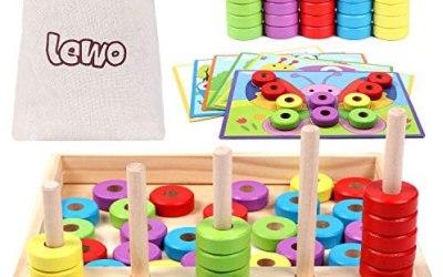 Lewo Puzzle in Legno Conteggio Giocattoli Giochi di Matematica Giocattoli…