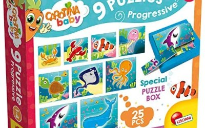 Lisciani Giochi 58457 – Carotina Baby Progressive Puzzle The Sea