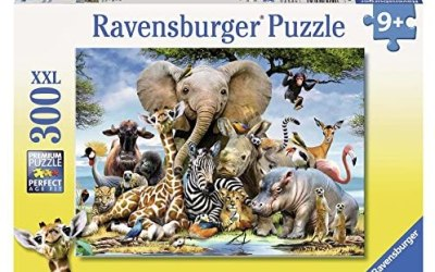 Ravensburger Italy- Rav Pzl 300 Pz. Cuccioli D'Africa 13075, Multicolore,…