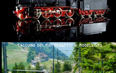 Diorama modellismo ferroviario: Taccuino dei miei progetti di modellismo,…
