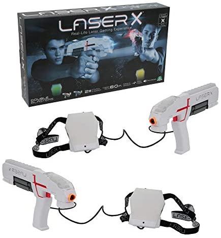 Giochi Preziosi Laser X Blaster, Indoor e Outdoor con 2 Laser Blaster, 2...