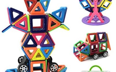 Magnetico Costruzione Blocchi Bambini 108 Pezzi Giocattoli magnetici,…