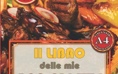 Il LIBRO delle mie 100 RICETTE: Ricettario di 100 MIEI deliziosi manicaretti – SPECIALE GRILL & BBQ – da scrivere (Italian Edition)
