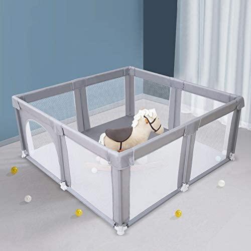Arkmiido Grande box per bambini, centro di attività per bambini al coperto...