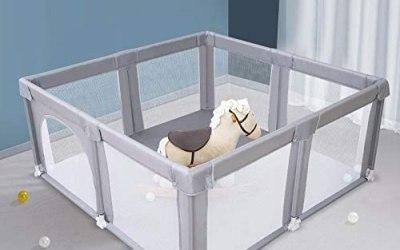 Arkmiido Grande box per bambini, centro di attività per bambini al coperto…