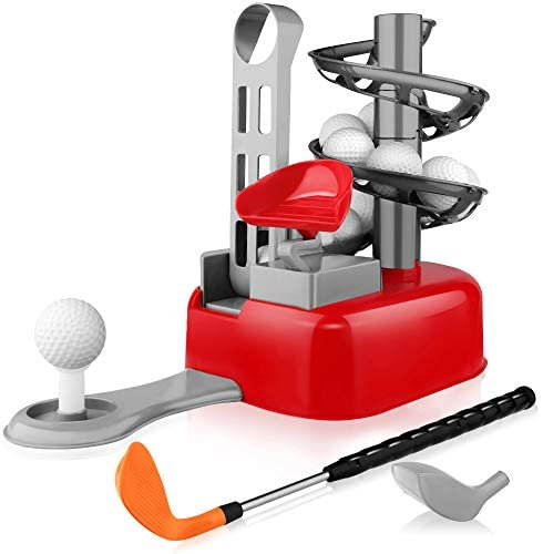 Baztoy Golf Giocattoli Plastica Golf Set Giochi All'Aperto Giochi da...