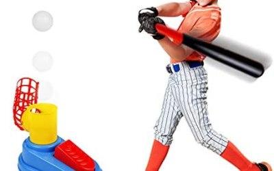 Giochi da Giardino per Bambini Set Baseball Compreso Mazza da Baseball,3…