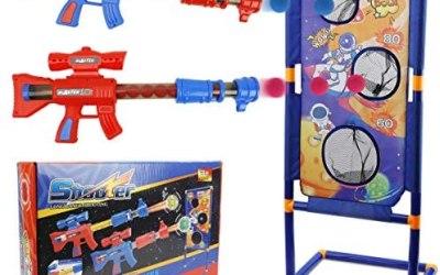 KETIEE Gioco di Bersaglio di Tiro, Blaster Giocattolo Set con 2 Pistola…