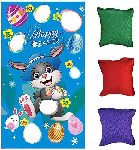 fagioli pasquali gioco di lancio di Pasqua, simpatico coniglietto...