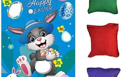 fagioli pasquali gioco di lancio di Pasqua, simpatico coniglietto…