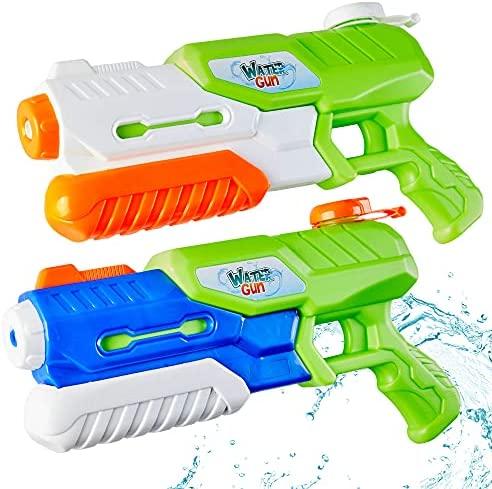 Paochocky 2 Pack Pistole ad Acqua, Pistola Giocattolo con 1200ML per...