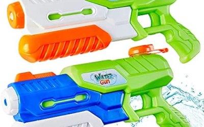 Paochocky 2 Pack Pistole ad Acqua, Pistola Giocattolo con 1200ML per…