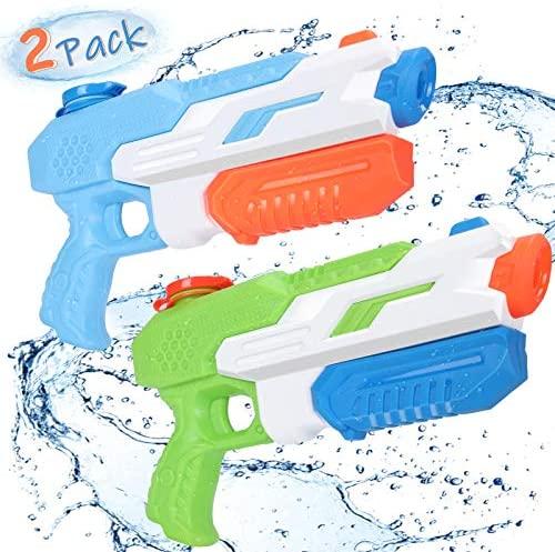 Pistola ad Acqua Bambini, joylink 2 Pack 650ML Super Soaker Water Pistol...