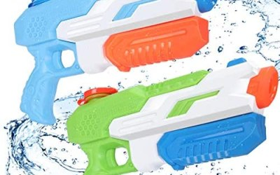 Pistola ad Acqua Bambini, joylink 2 Pack 650ML Super Soaker Water Pistol…