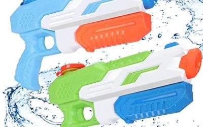 Pistola ad Acqua Bambini, joylink 2 Pack 650ML Super Soaker Water Pistol…